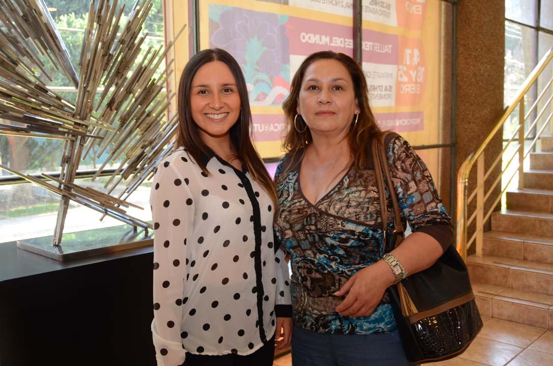 Bárbara Toledo y Bárbara Andaur