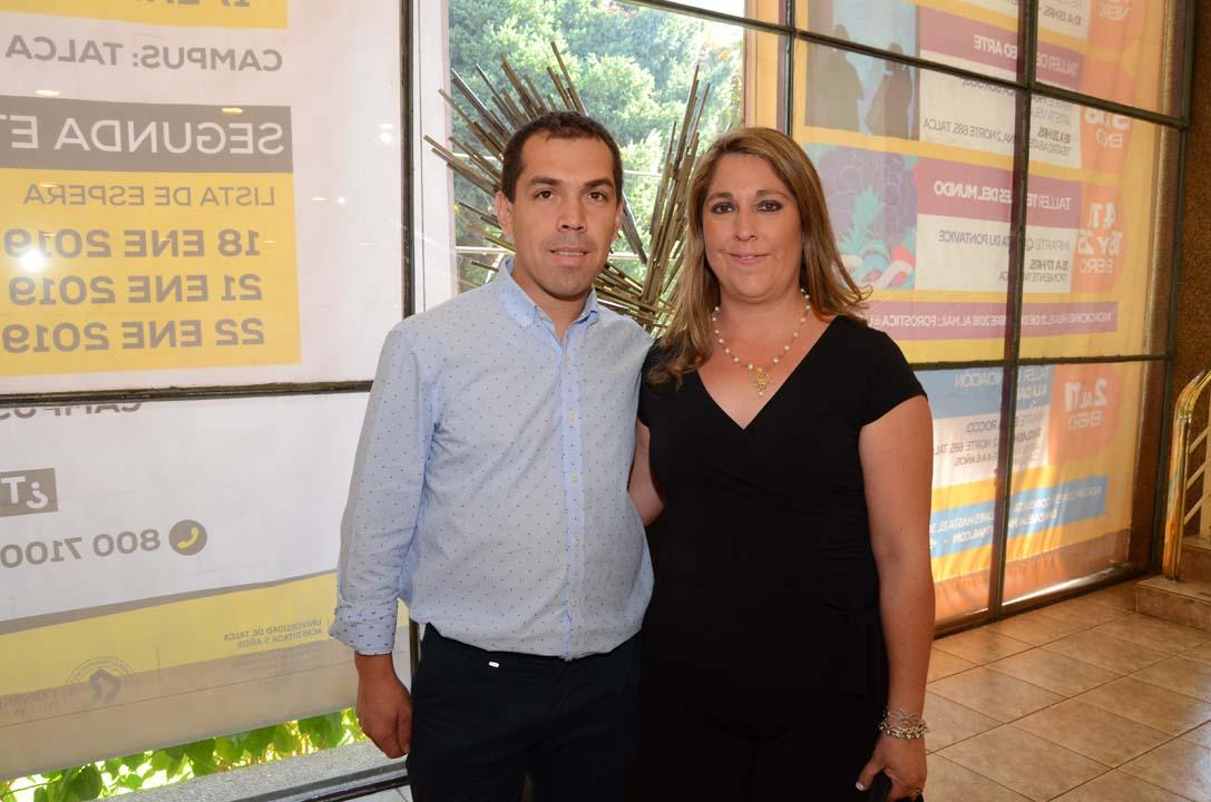 Enrique Albornoz y Valeria Salazar