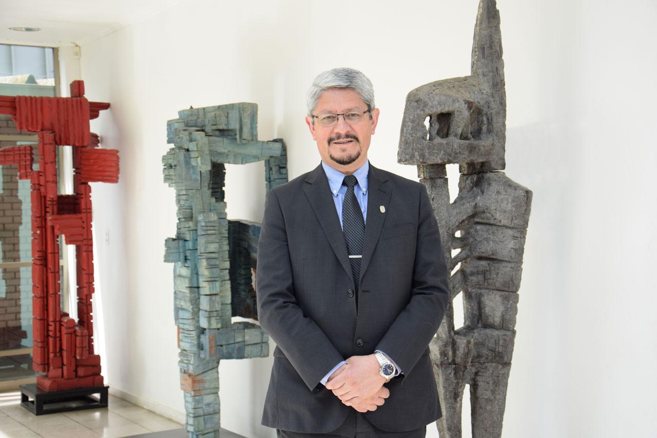 Dr. Mauricio Cataldo Monsalves. Rector Universidad del Bío-Bío