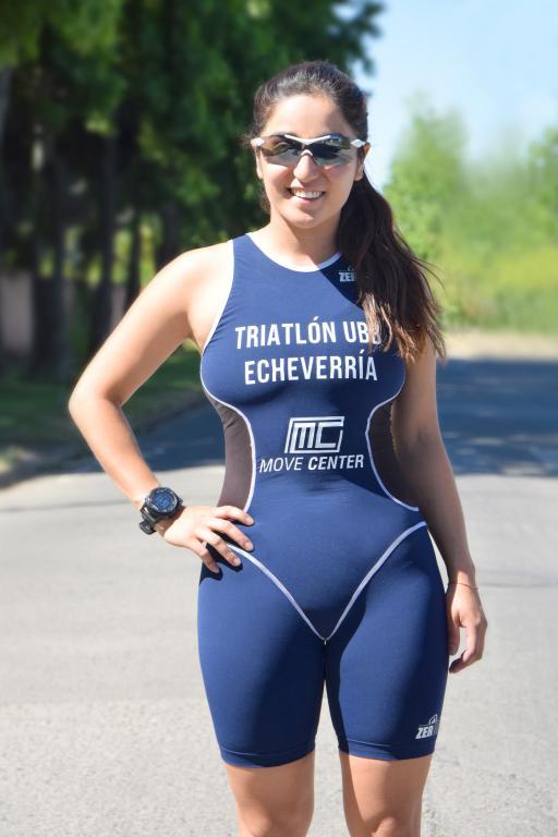 Nicole Echeverría Rodríguez, triatleta