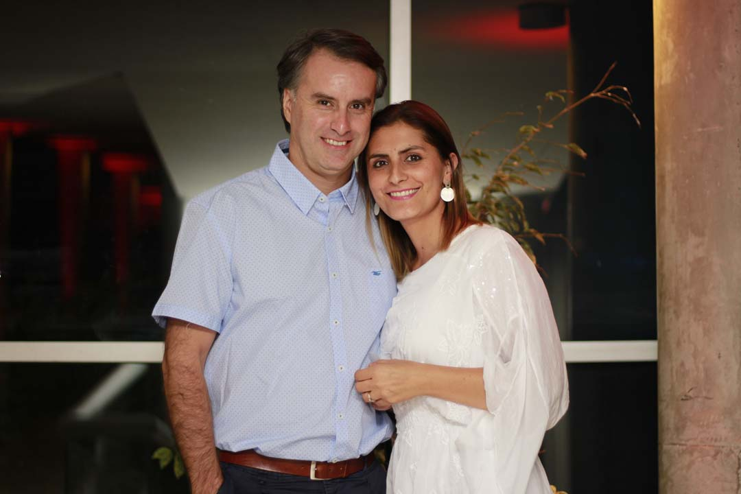 Claudio Sepúlveda y Camila García