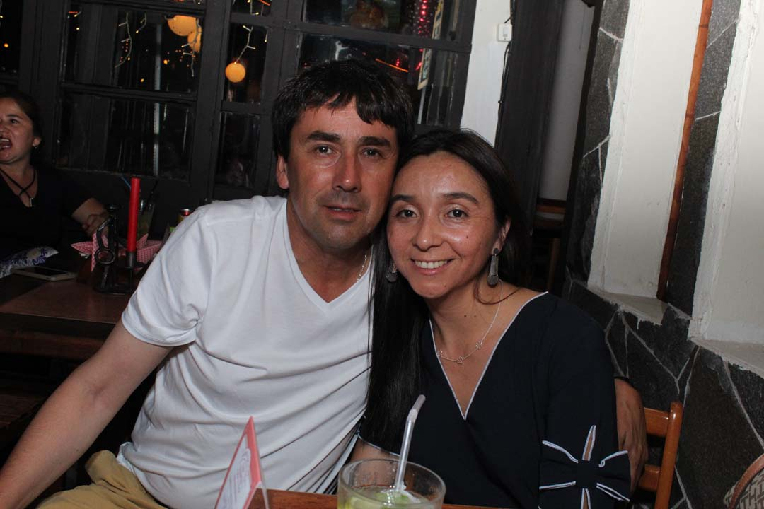 Luis Bustamante y Ema Merino