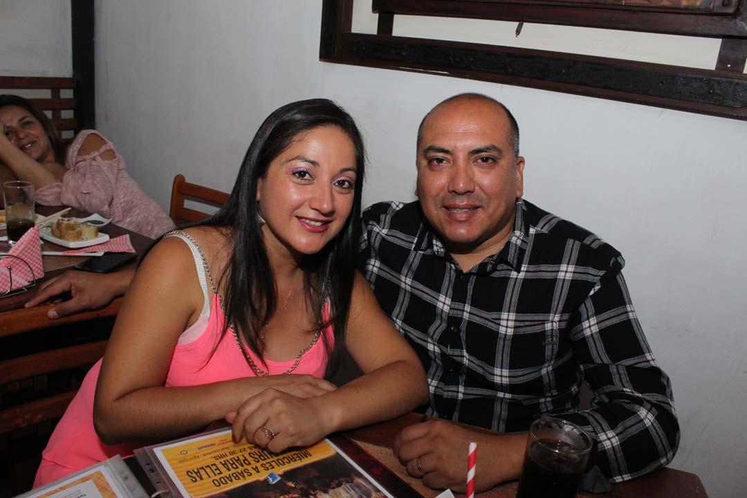 Margarita Ortega y Daniel Flores