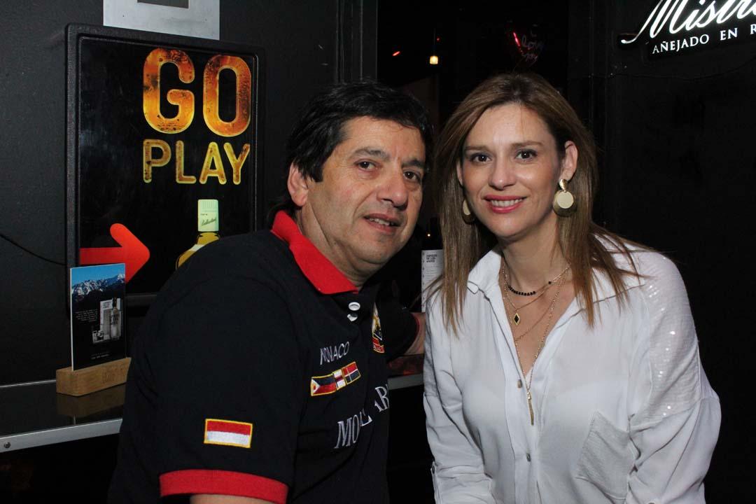 Mario Muñoz y Claudia Rojas