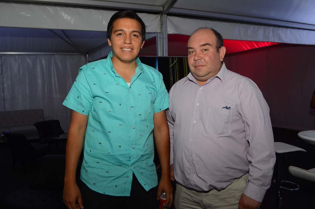 Franco Jamett y Fernando Serrano
