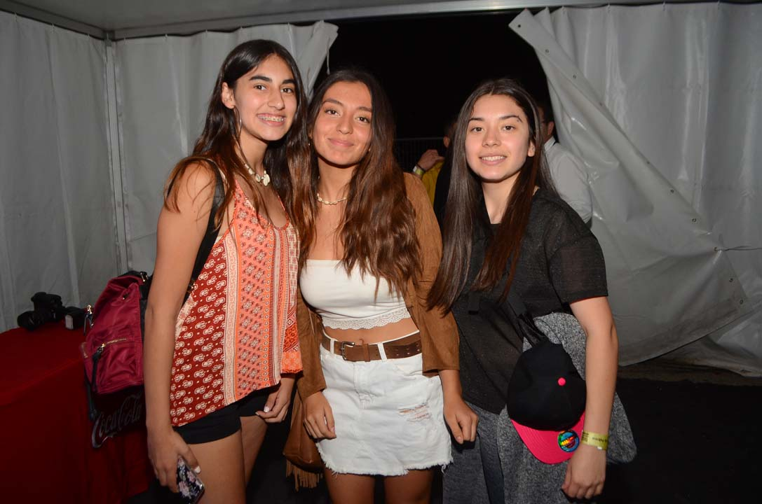 Fernanda Labra, Fernanda Santelices y Josefa Labra
