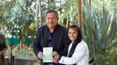 Daniel Salamanca, alcalde de Santa Bárbara y Leticia Zapata, gestora y fundadora de Brotes Nativos