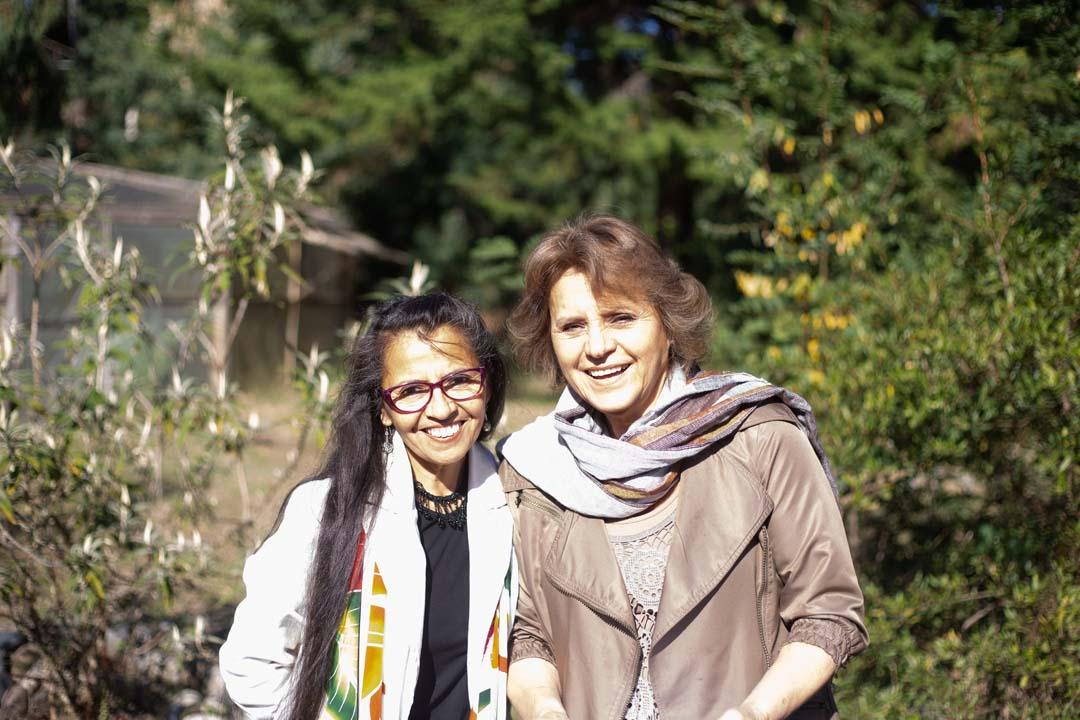 Leticia Zapata y Sonia Lagos Guzmán