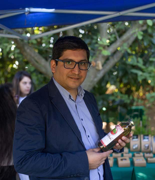 Manuel Velásquez, director del Centro de Desarrollo de Negocios Los Ángeles de Sercotec