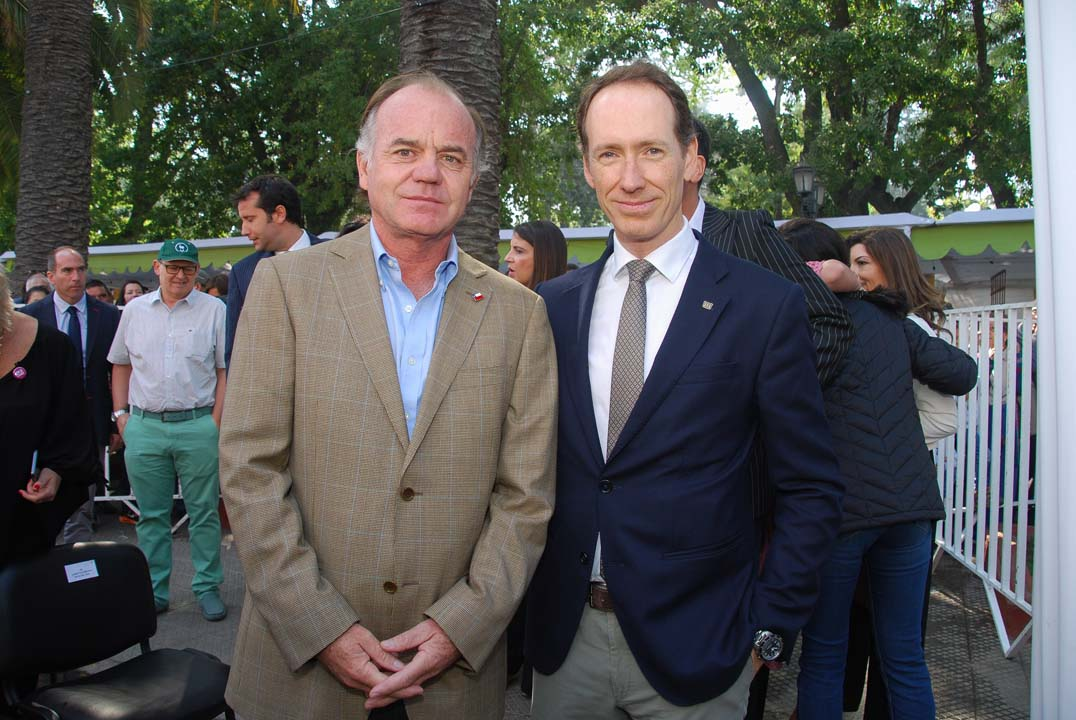 Antonio Walker y Miguel Torres M