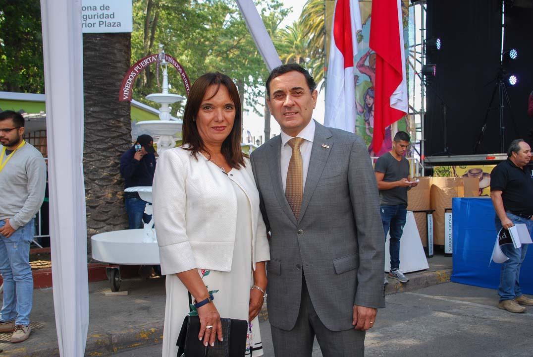 Patricia Gajardo y Javier Muñoz
