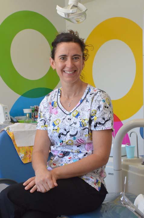 María José Calaf, odontóloga