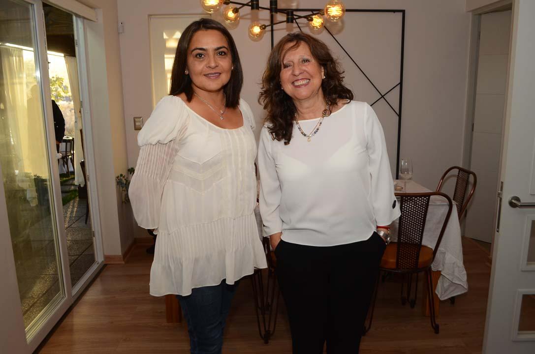 Manet González y Priscila Paiva