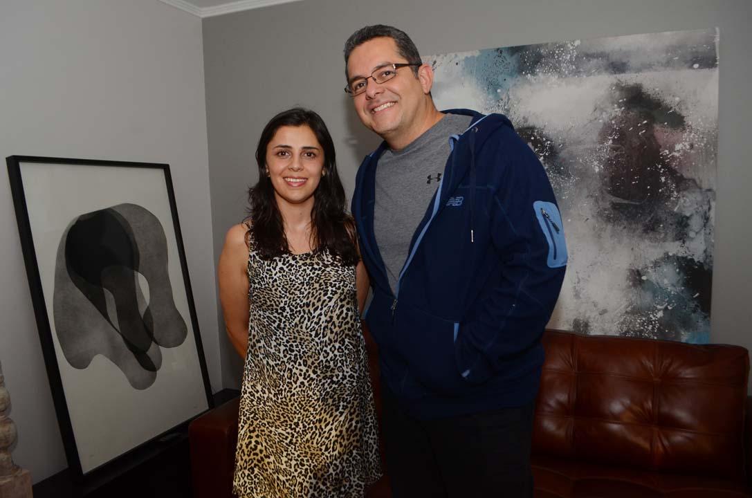 Ximena Sandoval y Fredy Díaz