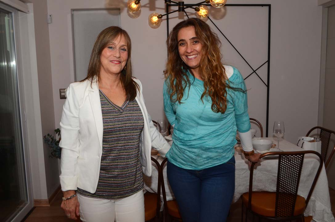 Belinda Paiva y Paola Navas