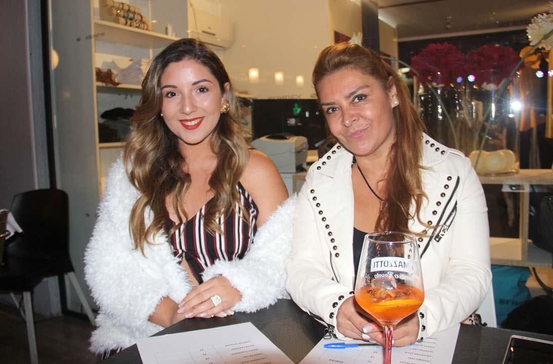 Aline Godoy y Loreto Segovia