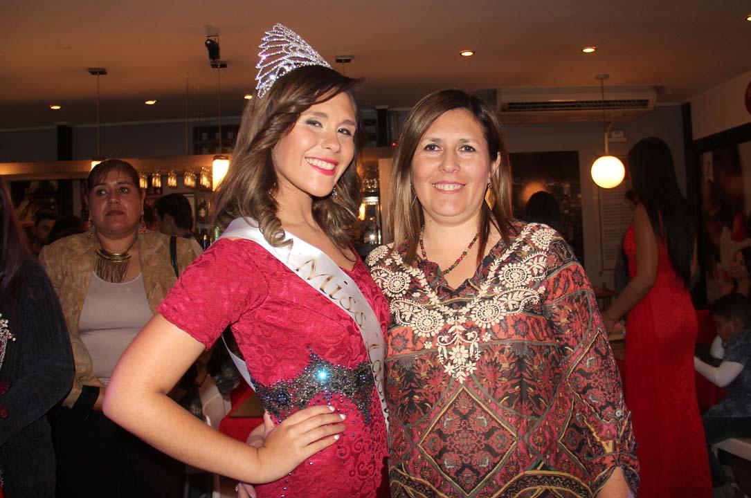 Valentina Silva y Fabiola Calderón