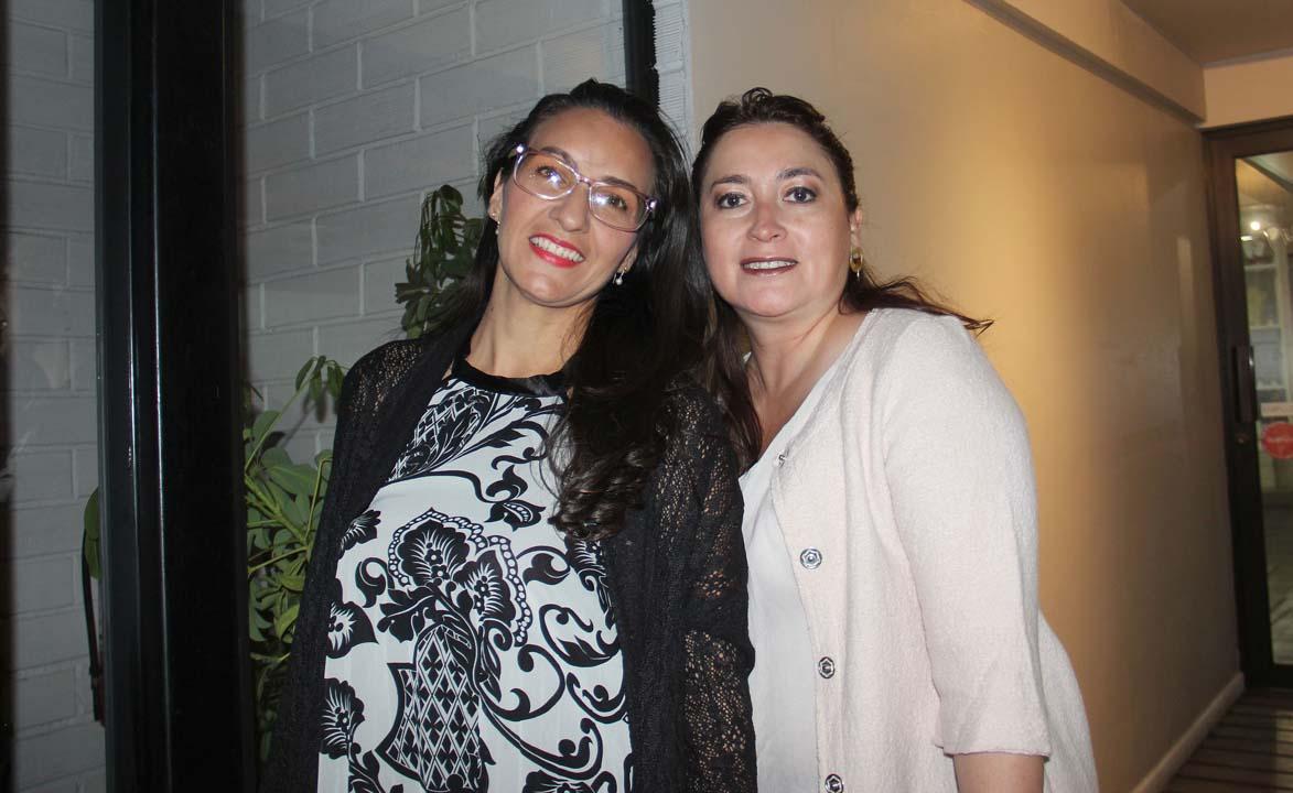 María Blanca Pérez y Alejandra Crisóstomo