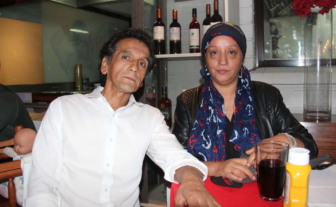 Nelson Téllez e Ivette Gajardo