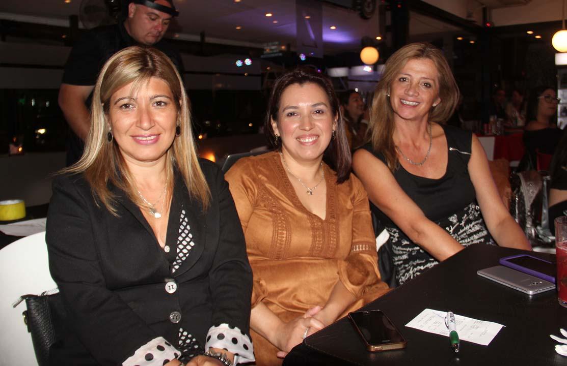 Claudia Troncoso, Jacqueline Ramírez y Maribel San Martín
