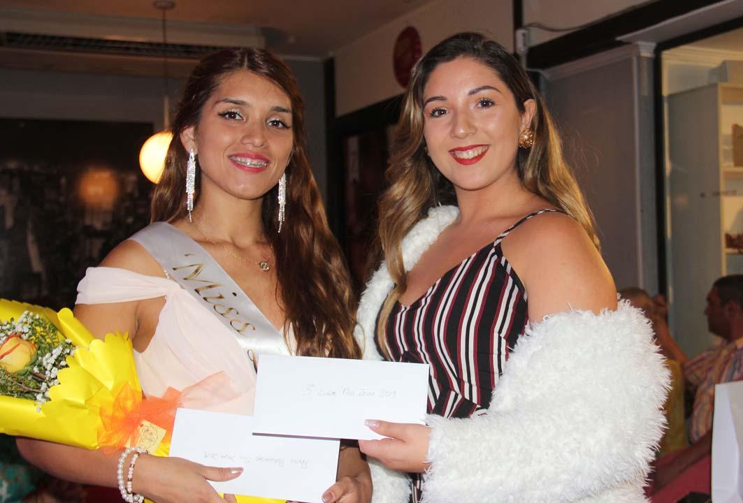 Danitza Villagra y Aline Godoy