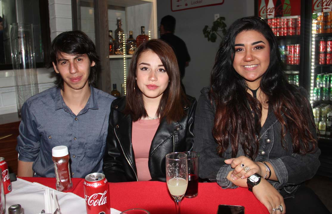 Jacob Ortiz, Daniela Verdugo y Daka Martinelli