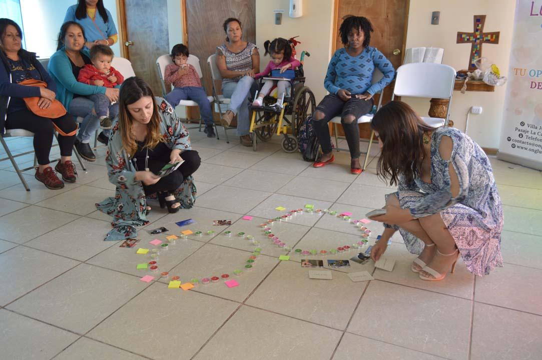 En ONG Luces del Futuro Chillán