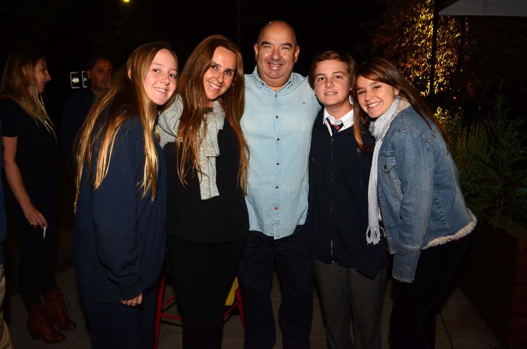 Mercedes Montes, Patricia Rojas, Mario Márquez, Raimundo Montes y Macarena Rubio