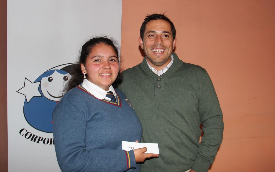 Fernanda Henríquez y Sebastián Fritzer