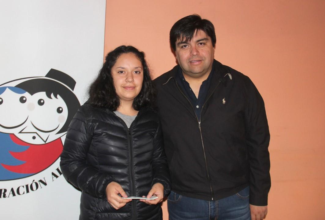 María José Rivas y Hansel Silva
