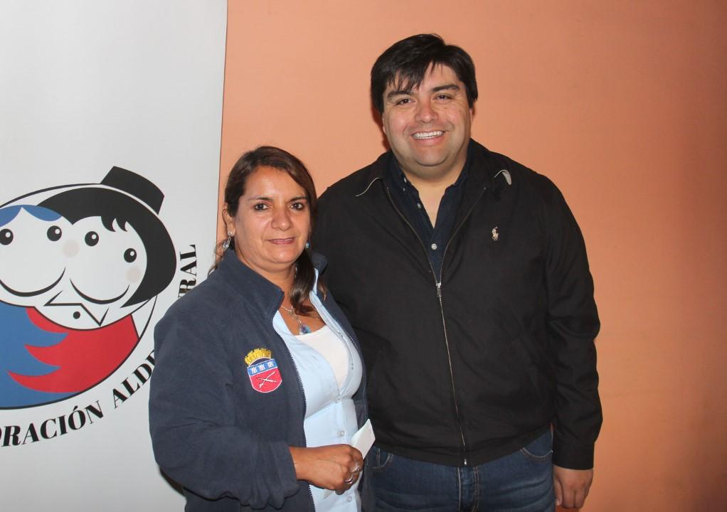 Margarita Rodríguez y Hansel Silva