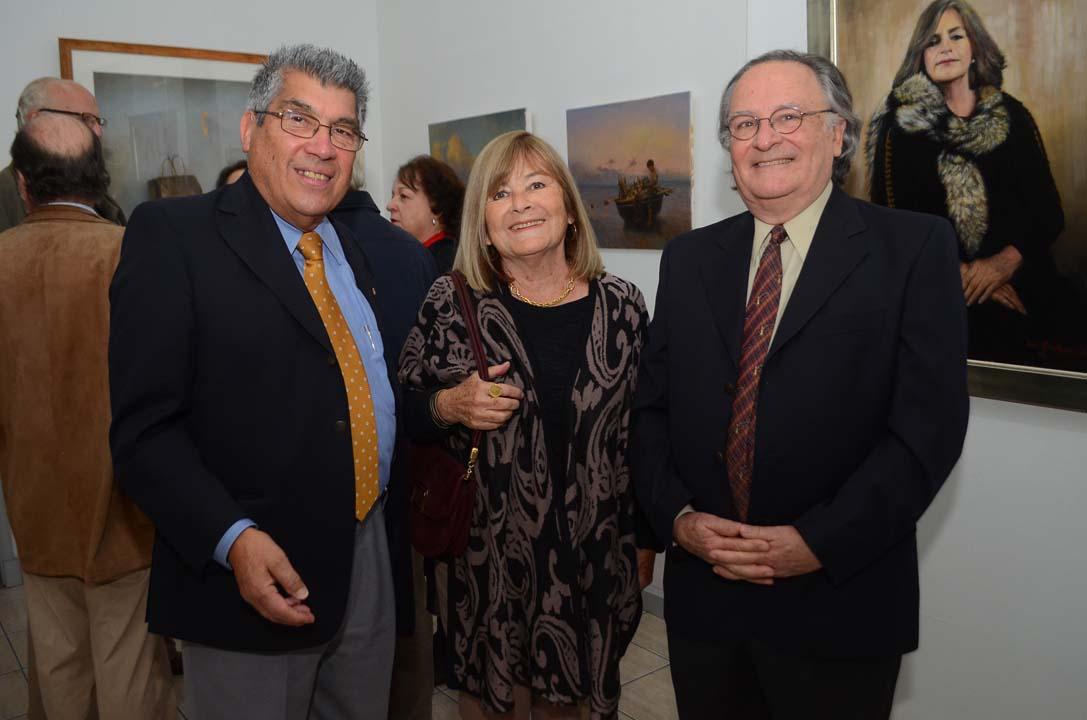 Mario Bravo, Marta Rodríguez y Manuel Ramón Espinosa