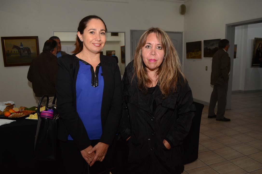 Marcela González y Ana María Casanueva