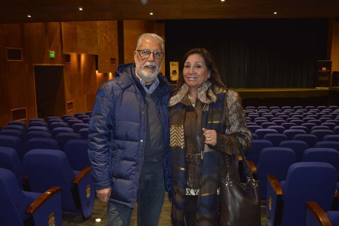 Erick Zagal y Gabriela Aguirre