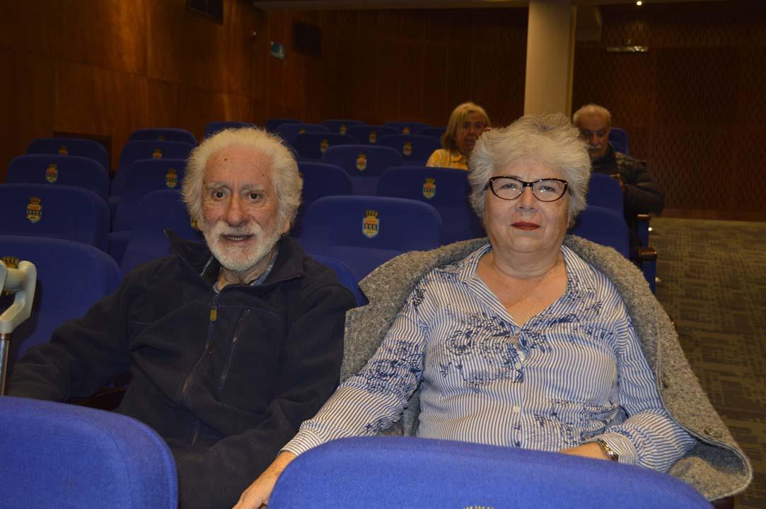 Julio Garrido y Eliana Millán