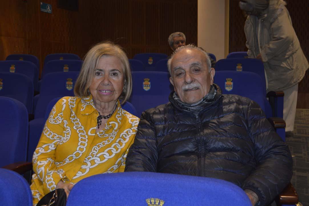 Jeannette Elcano y Mario Ibáñez