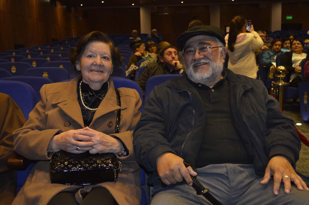 Margarita Cifuentes y Sergio Hernández