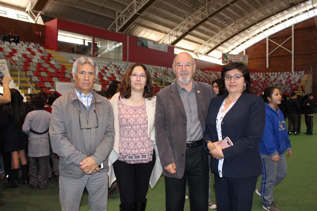 Mauricio Rondanelli, Beatriz Sánchez y Claudia Murua
