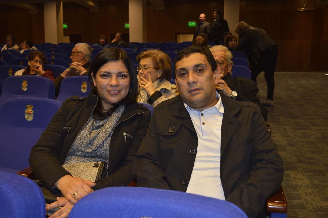 Alicia Fuentealba y Rodrigo Concha