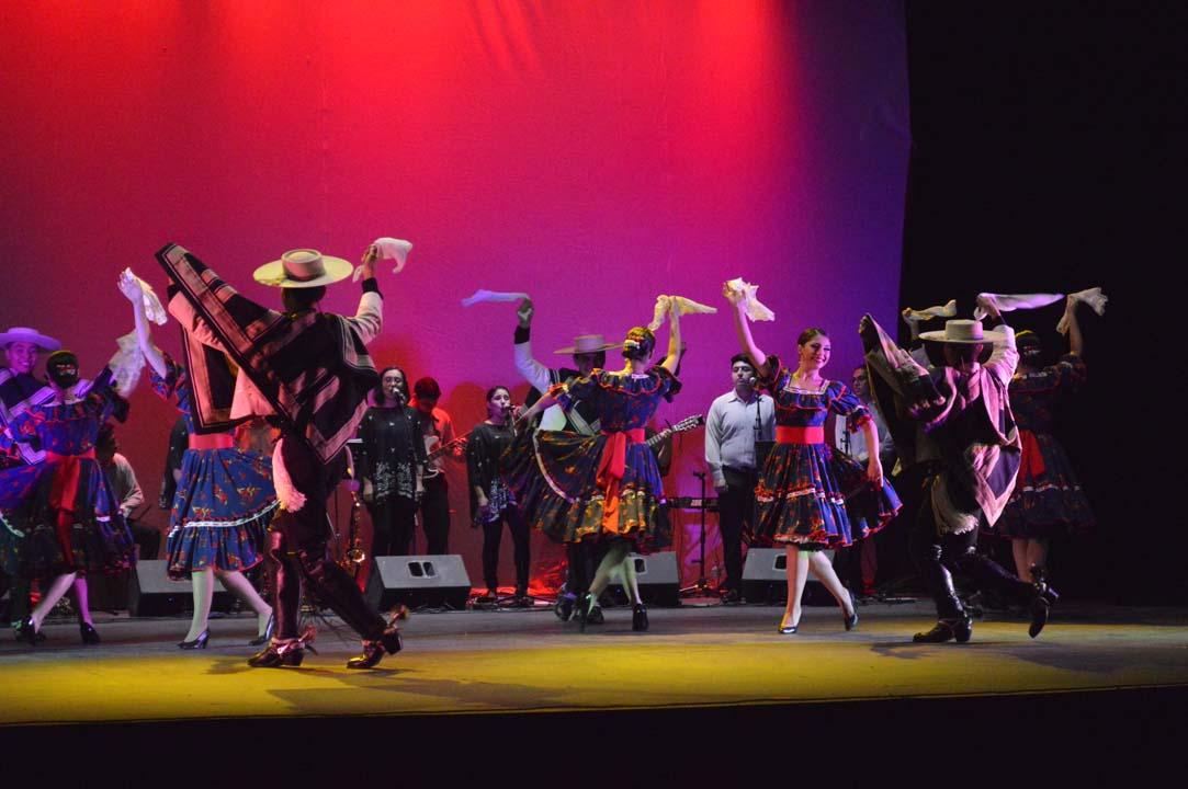 U. de Concepción conmemoró sus 100 años con presentación de Ballet Folclórico y Grupo Musical