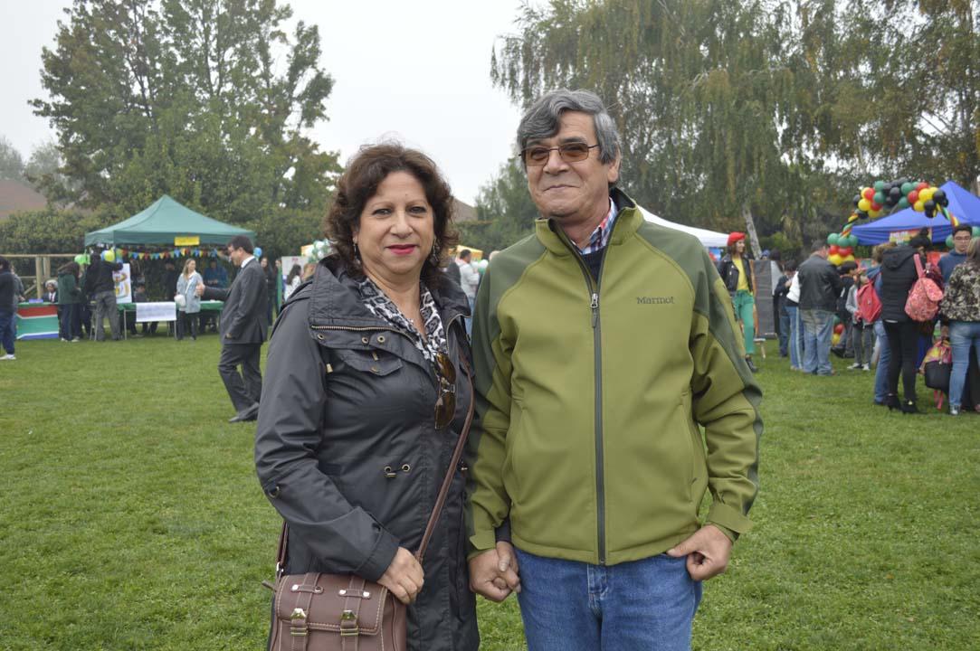 María Cristina Rivas y Luis Concha
