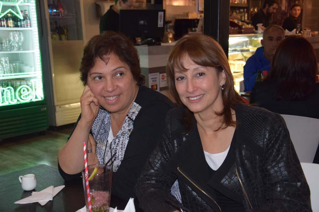 Cecilia Díaz y Flor Gatica