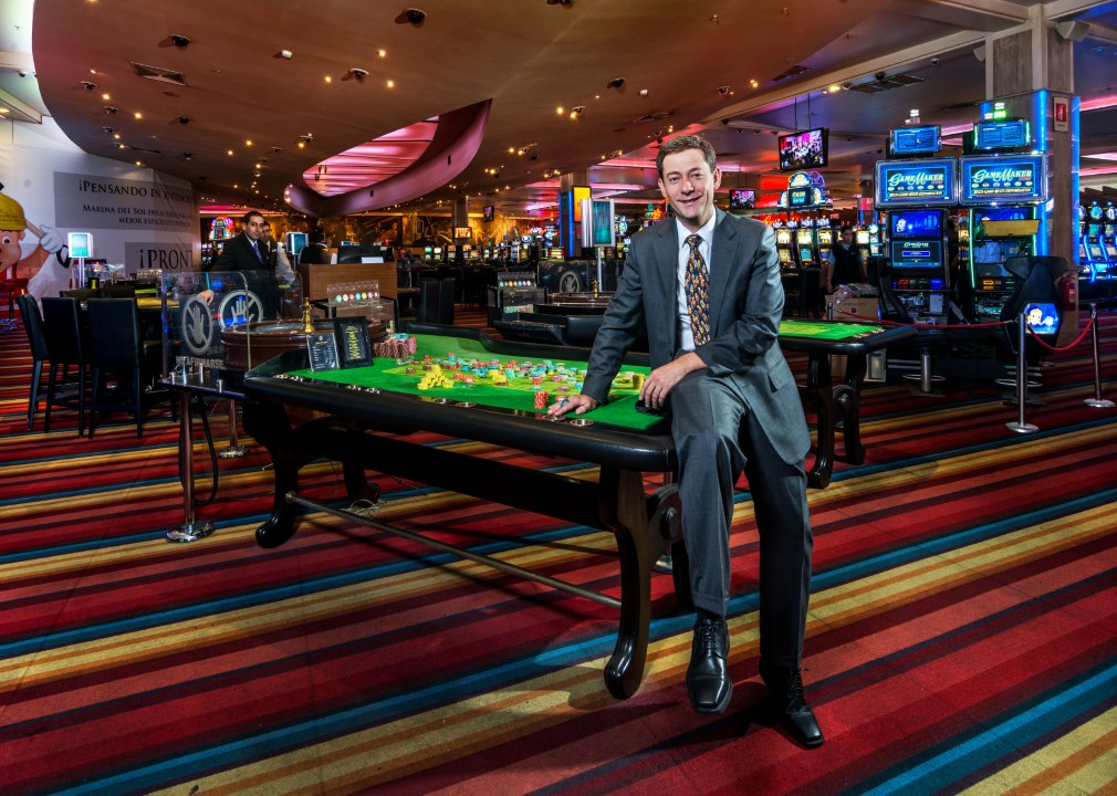 Photo of Nicolás Imschenetzky, empresario y presidente del Casino Marina del Sol