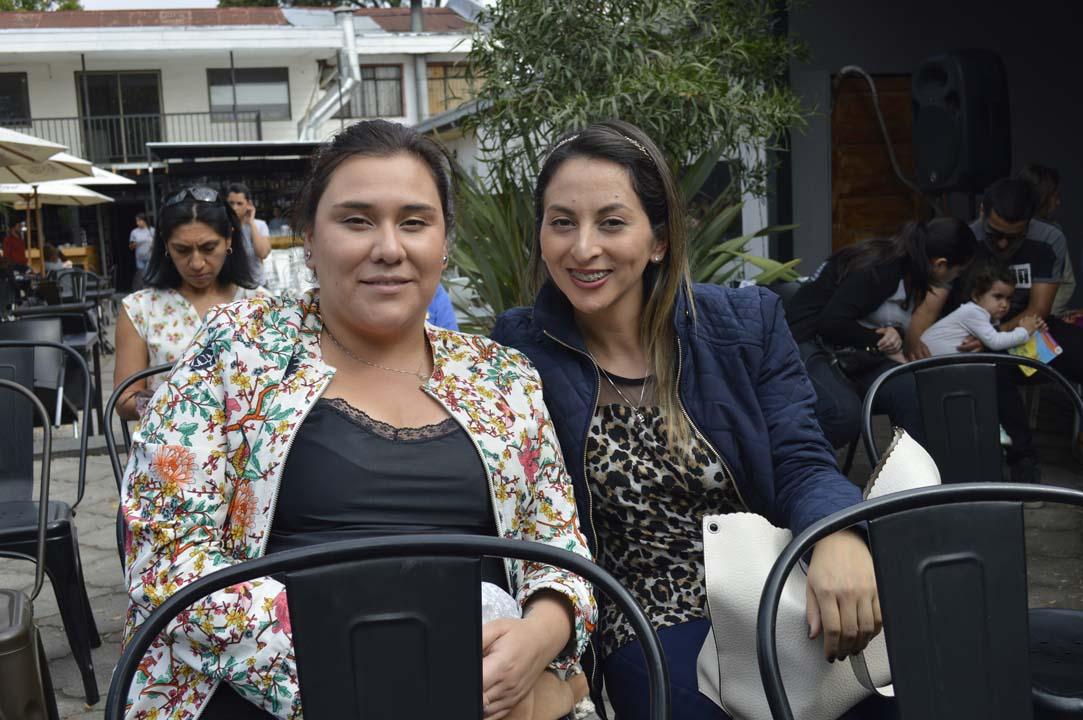 María Luz Carril y Andrea Ruiz