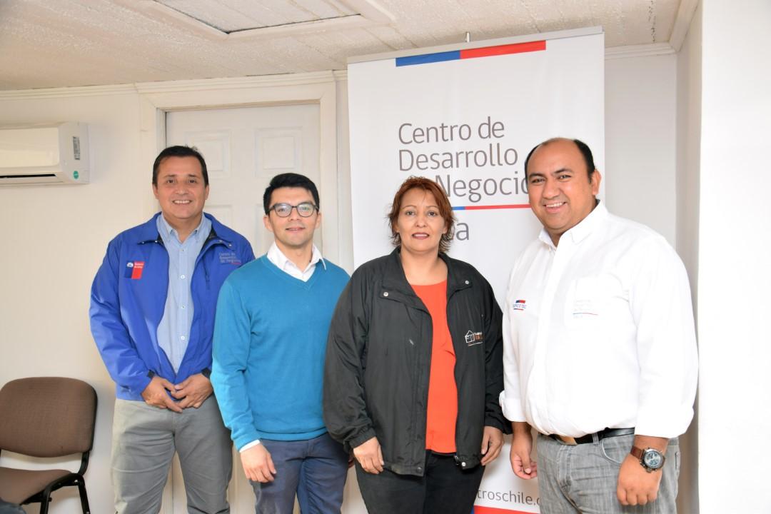 Claudio Reyes, director Centro de Desarrollo de Negocios Talca