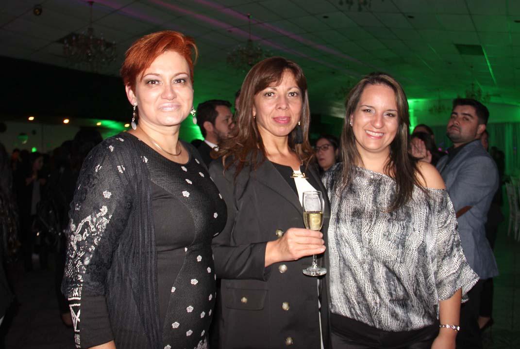 Zunilda Peña, Patricia Morales y Carolina Herrera