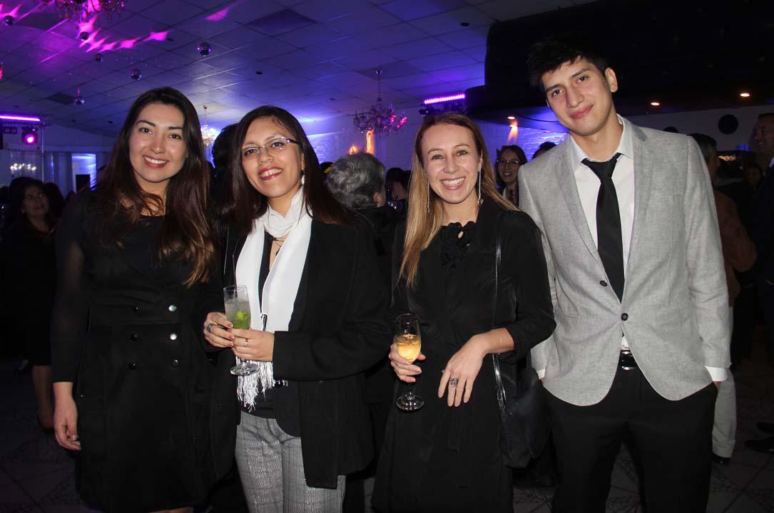 Eva Martínez, Trini Ortega, Priscila Grgurina y Felipe Penroz