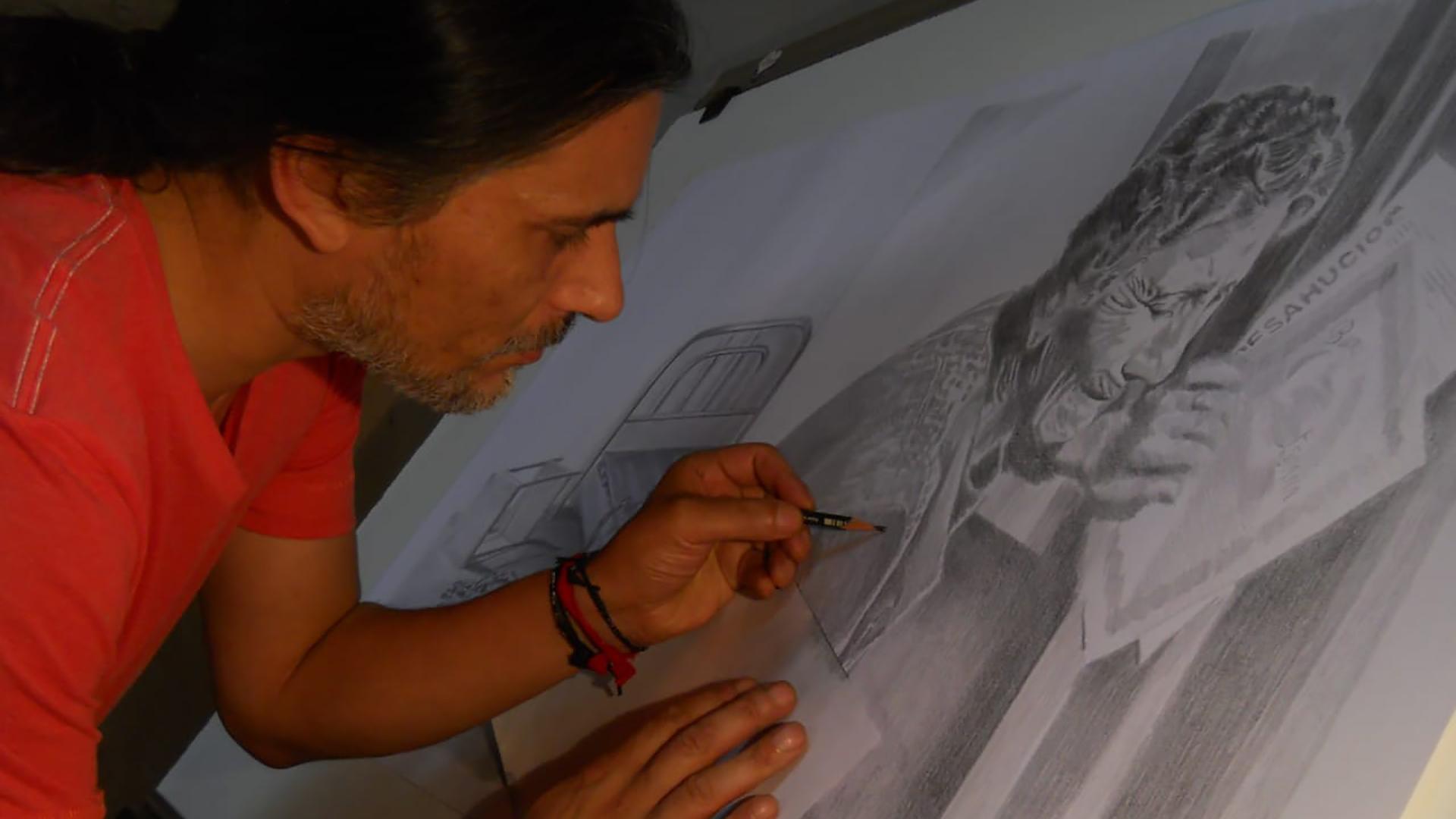 Isrrael Villablanca de la Fuente, artista visual