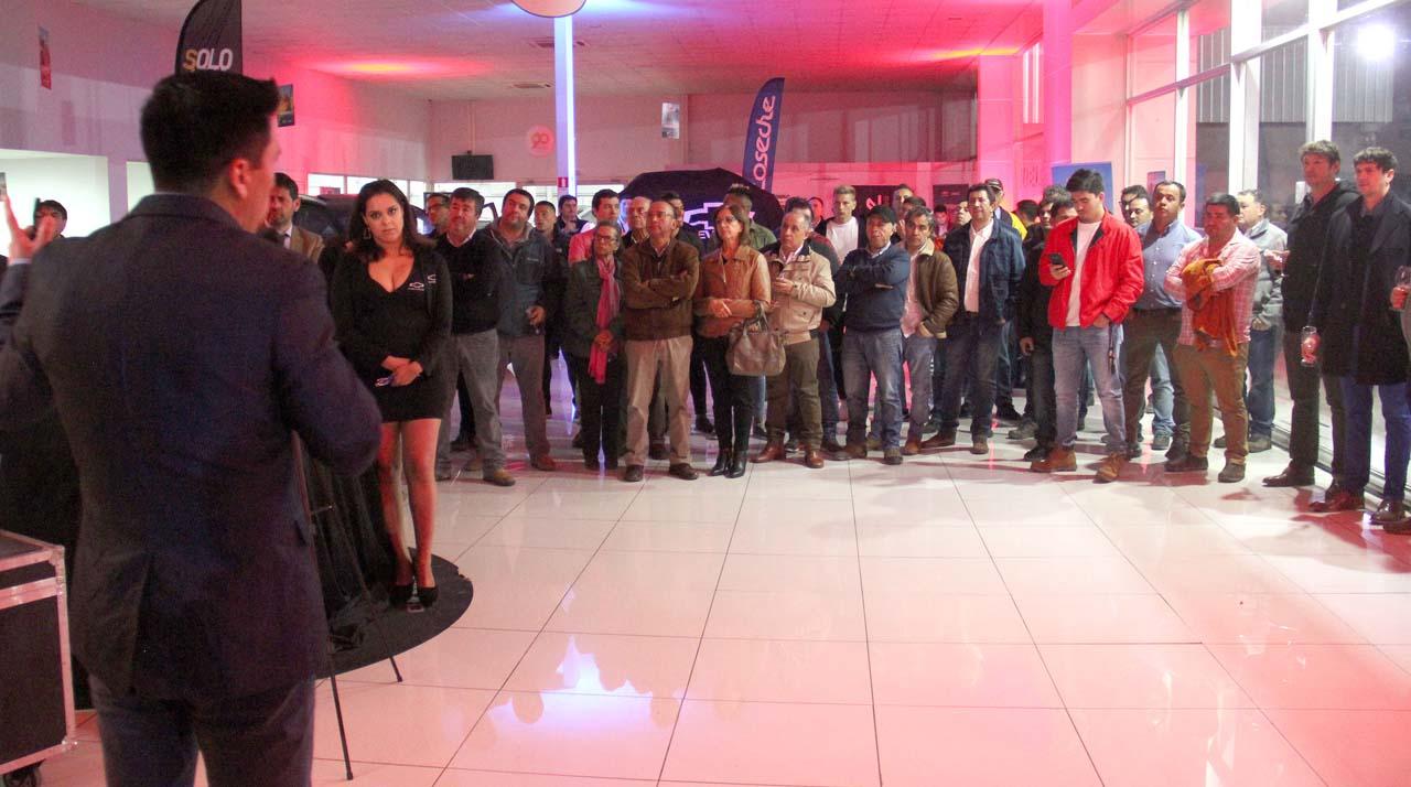 automotriz Coseche de Chillán lanzó sus dos nuevos modelos, Silverado y Captiva