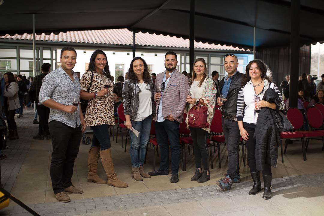 Diego Loyola, Paula Rojas, Marcela Leni, Marcela Arriagada, Daniella Gillmore, Jose Ozaki y Paula Solís